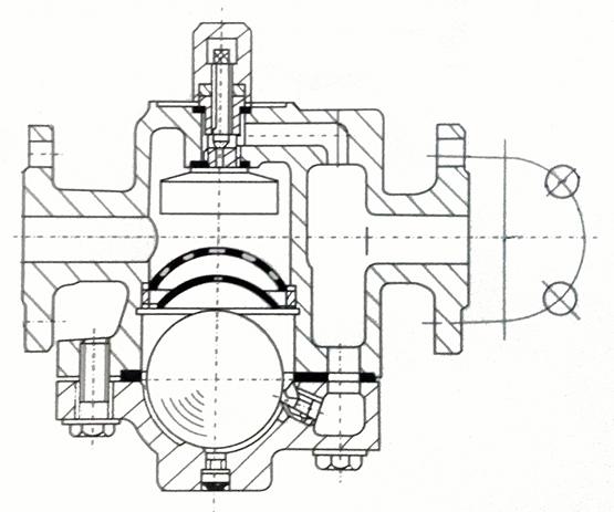自由浮球式疏水阀型号,性能参数,结构长度,重量图片