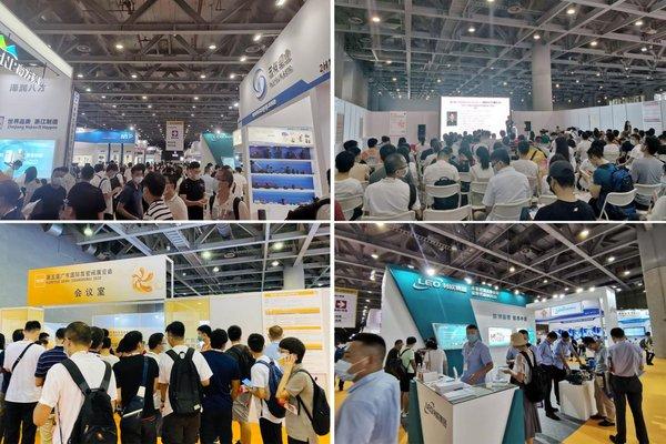 第五届广东国际泵管阀展现场