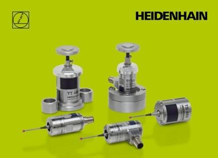 海德汉推出了新一代无线测头: TS460(工件测头)和TT460(刀具测头)