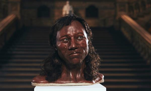 3d打印重建1万年前英国人面容激发对古代英国人的研究图片