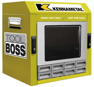 肯纳金属新型ToolBOSS刀具管理系统