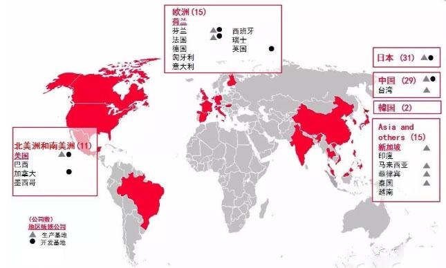 村田制作所马来西亚工厂竣工(附全球工厂布局地图)