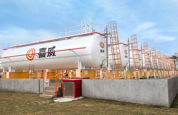 喜威液化石油气充装站