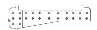 枕梁腹板和横梁腹板组合的智能化模具结构设计原则