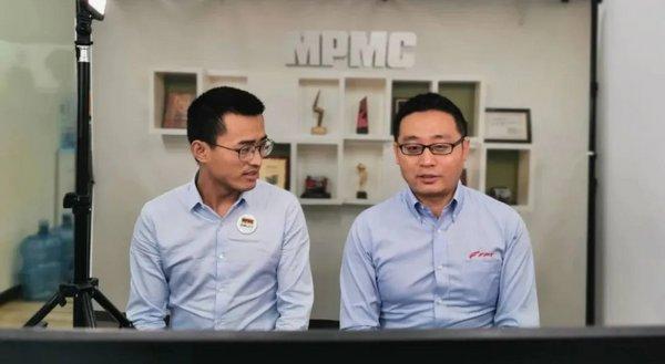 蔡昊先生与魏军先生