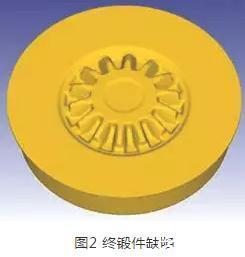 三联齿轮锻造成形数值模拟及模具结构优化