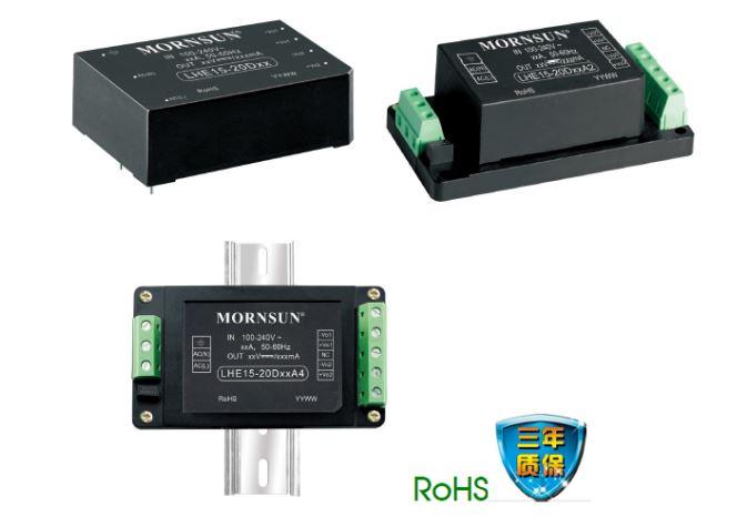 5-20w高性价比多路输出ac/dc电源模块lhe系列