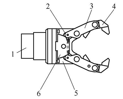 液压式四自由度机械手设计图片