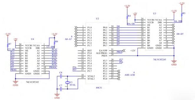 基于msp430单片机编程器的设计