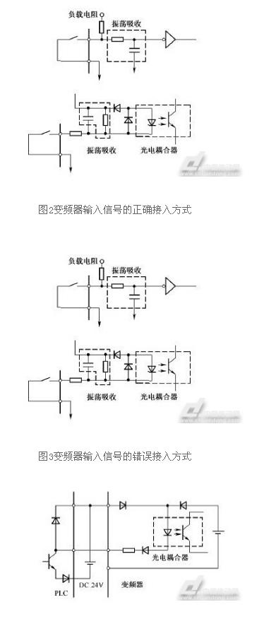 正确的连接是利用plc电源将外部晶体管的集电极经过二极管接到plc上