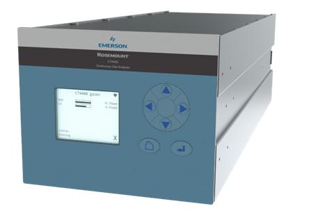 艾默生推新型 Rosemount™ CT4400 混合型激光连续气体分析仪