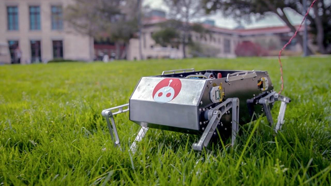 斯坦福创开源四足机器人平台,没有百万资产也能制作自己的机器狗!