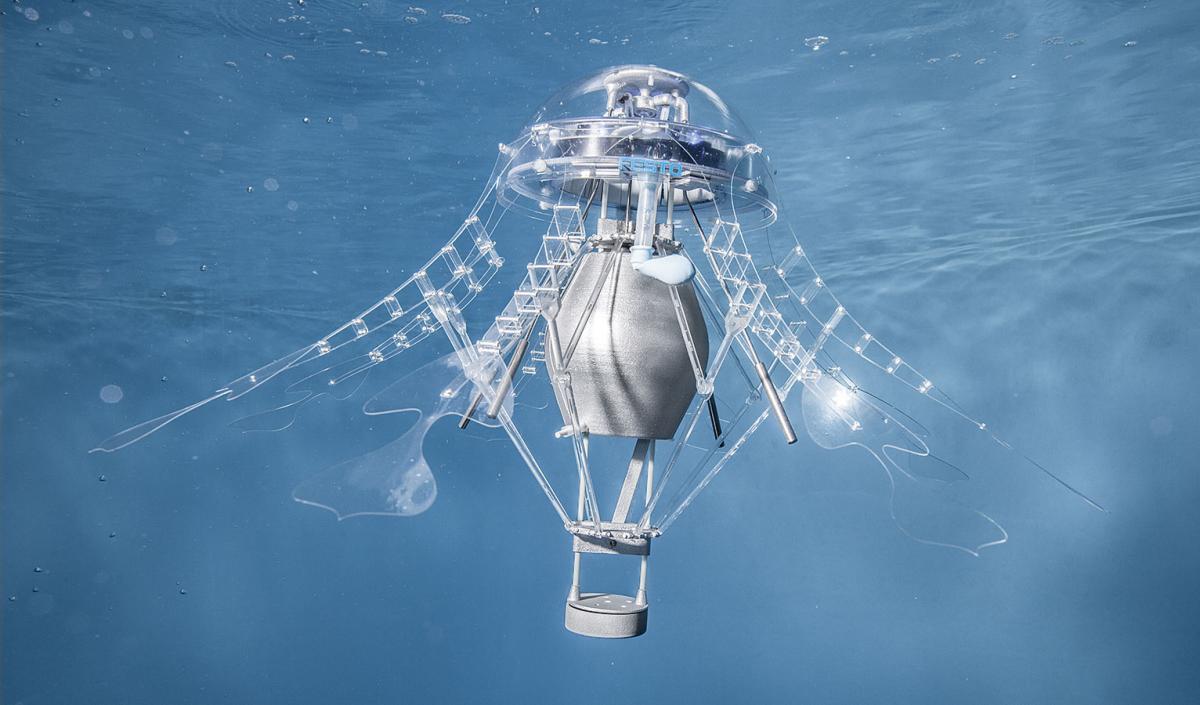 优雅的水中舞者——仿生水母AquaJellies 2.0