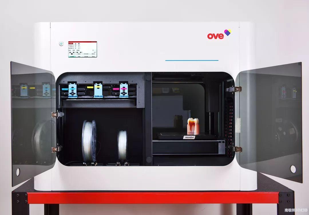 波兰OVE 推出全彩色FFF 3D打印机,售价8万元