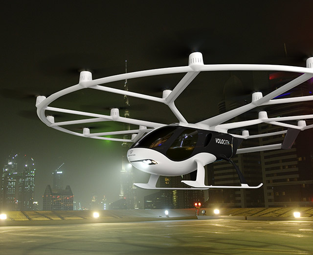 Volocopter在新加坡完成飞行汽车载人测试