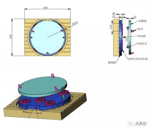 特别设计的快换夹持方案,解决五轴加工难题