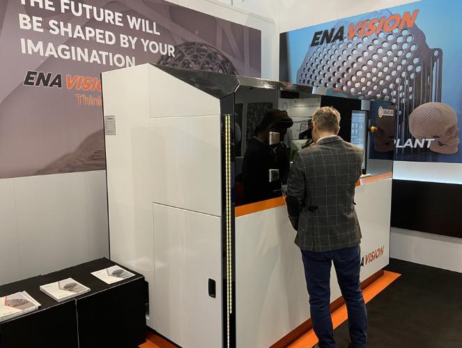 切割机巨头展出金属3D打印机 可实现快速灵敏的生产