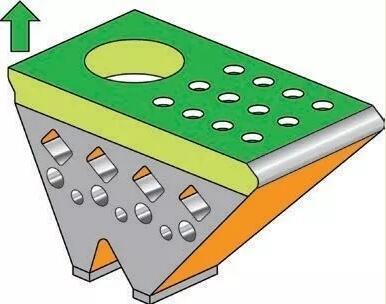 实体边界、上表面和下表面通常需要与零件实体不同的参数