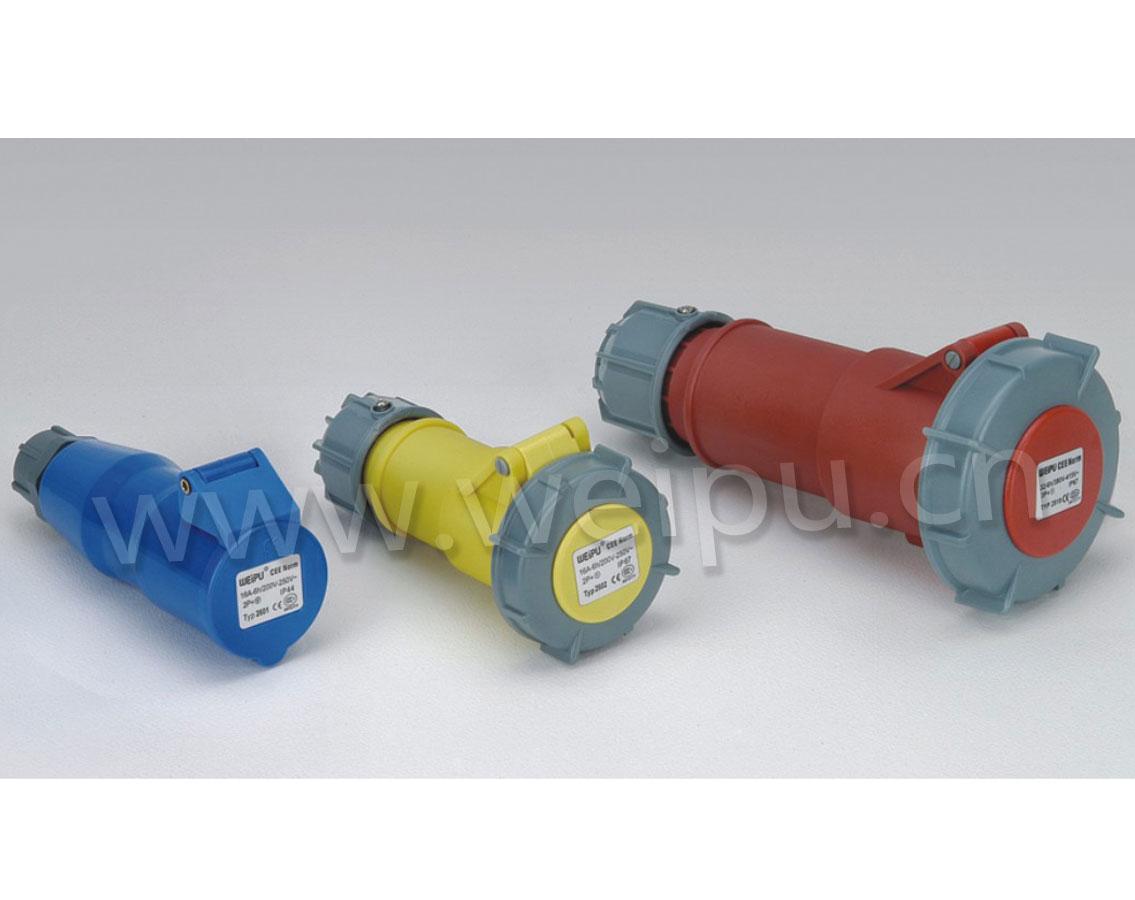 威浦TYP系列|工业防水连接器|IP44/IP67|16A/32A/63A/125A